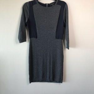 Ann Taylor Long Sleeve BodyCon Sweater Dress